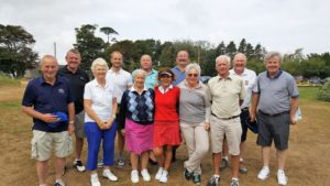 Tom and the gang from Hoylake Golf Club