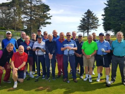 Phil from Pontypool Golf Club and the gang