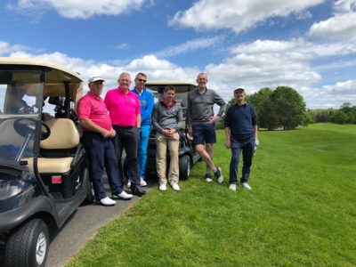 Paul and the guys from Weston super Mare Golf Club & Bigbury Golf Club