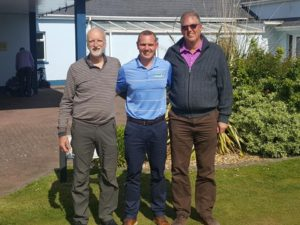 Ted & Chris over from Wenvoe Castle Golf Club