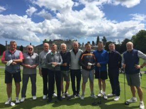 ohn and the Turton Golf Club boys
