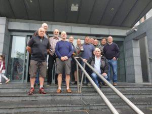 Gwyn and the Caernarfon Golf Club boys